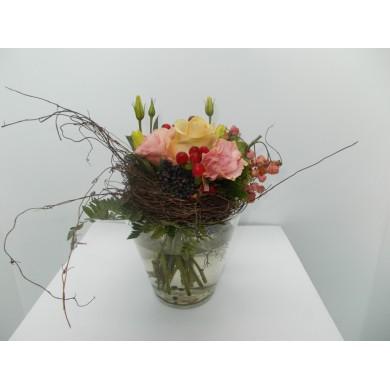 Mazzo floreale con rose