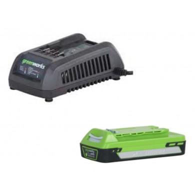 Caricabatterie 40V attacco VDE con batteria 2Ah inclusa nel prezzo