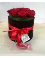 """Composizione Rose """"Elegant Premium"""""""