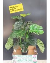 Philodendron artificiale ht 105 cm