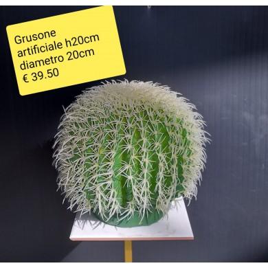 Grusone artificiale ht 20 cm - diametro 20 cm